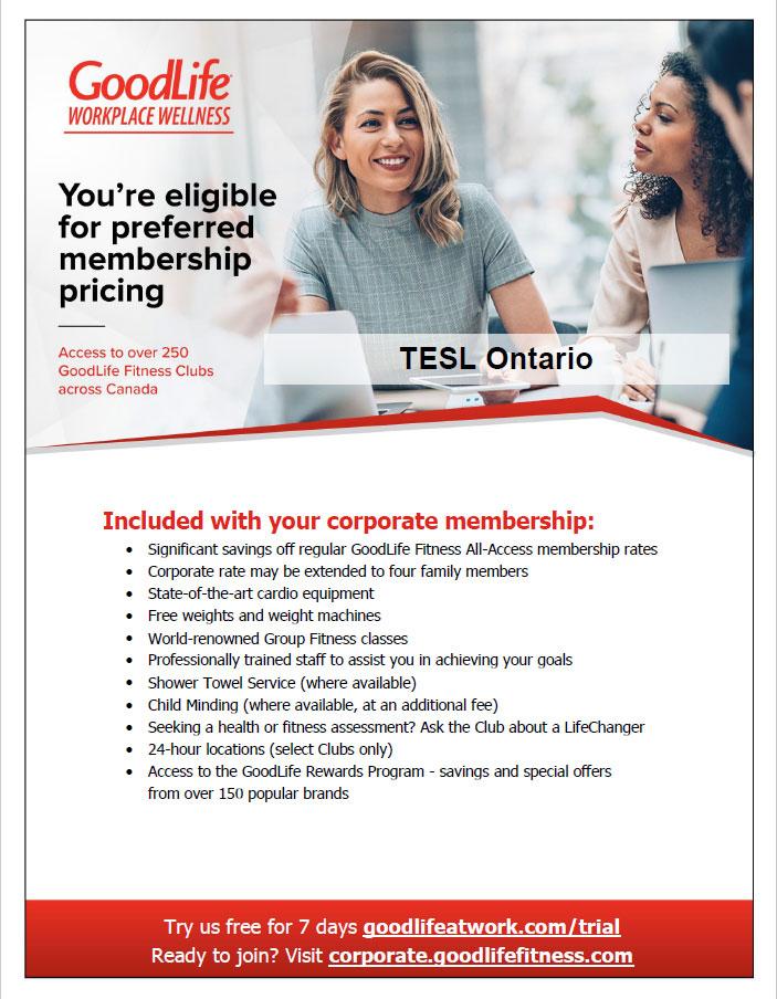 Member Savings Programs Tesl Ontario